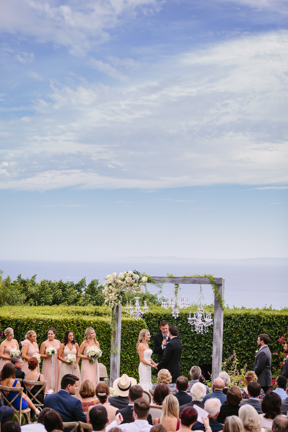 STONE MANOR ESTATE, MALIBU, ASHLEY + DREW