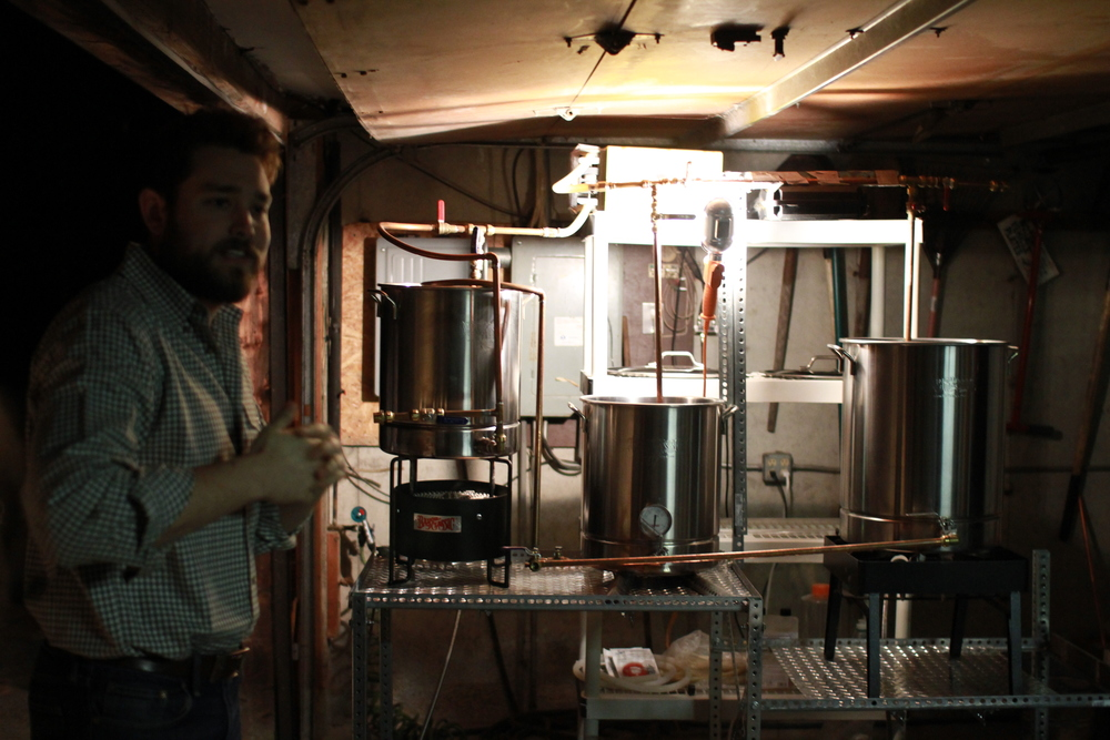 the original home brew system now on the brewery floor in merrimack serving - Home Brewery Design