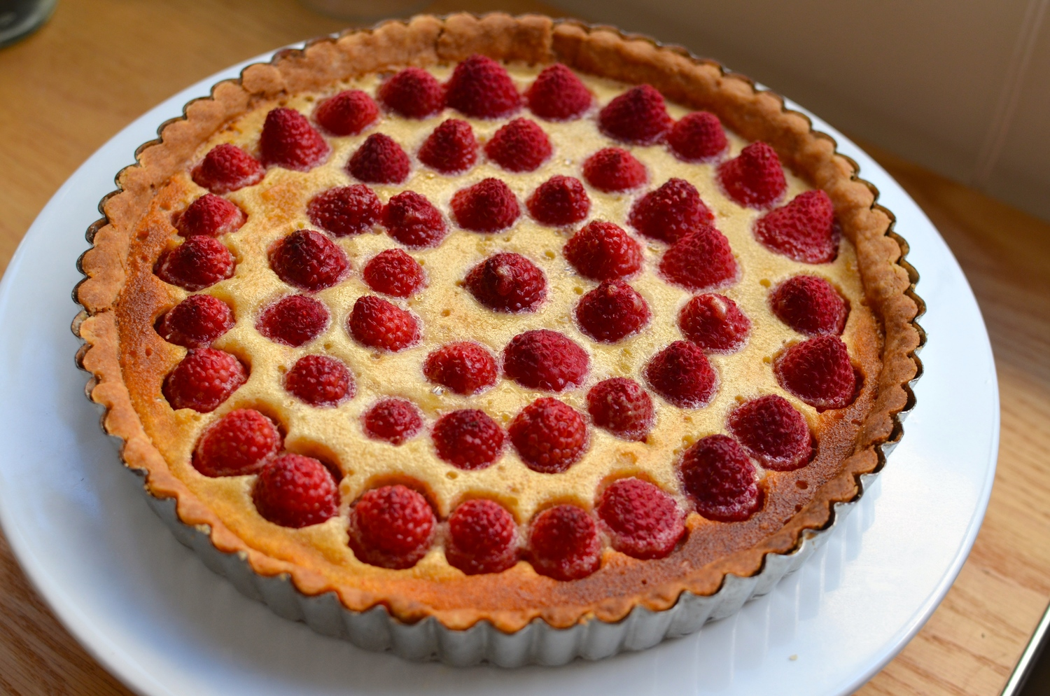 Image result for Brown butter raspberry tart