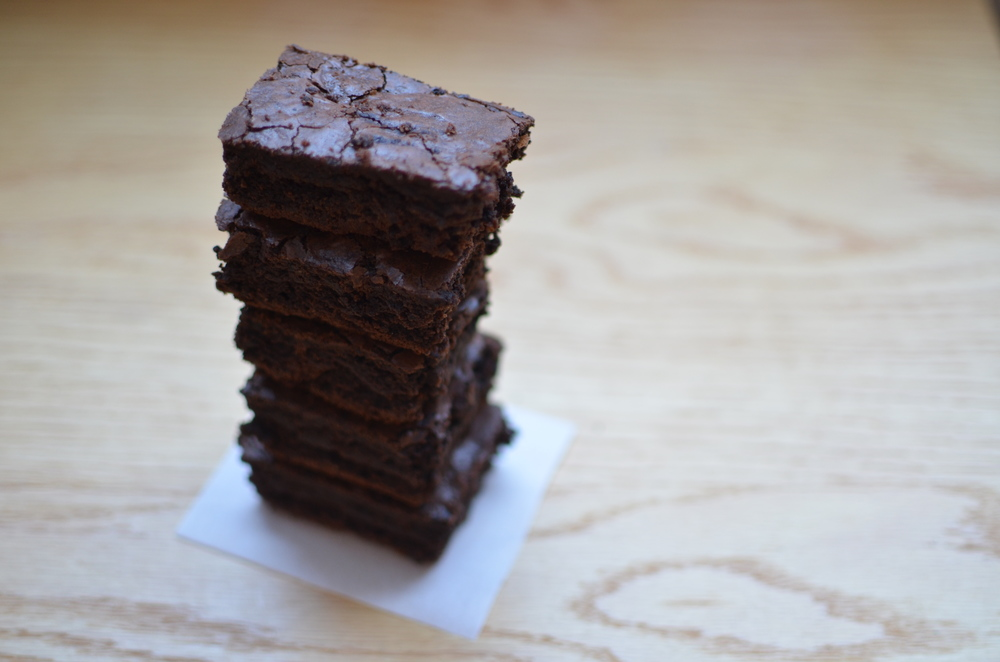 soft brownies