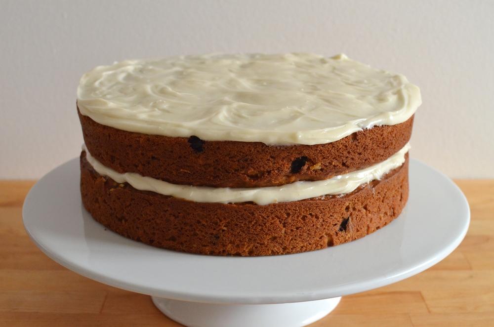 pumpkin layer cake