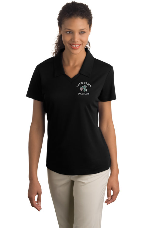 7ea454d7 Nike Golf - Ladies Dri-FIT Micro Pique Polo. 354067.  v1_354067_Black_model_front.jpg