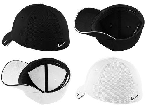 Nike Golf - Dri-FIT Mesh Swoosh Flex Sandwich Cap. 333115. — Custom ... f48d695c53c1