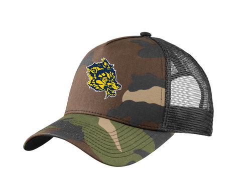 a599da9dd6972 New Era® Snapback Trucker Cap. NE205. — Custom Threads   Sports