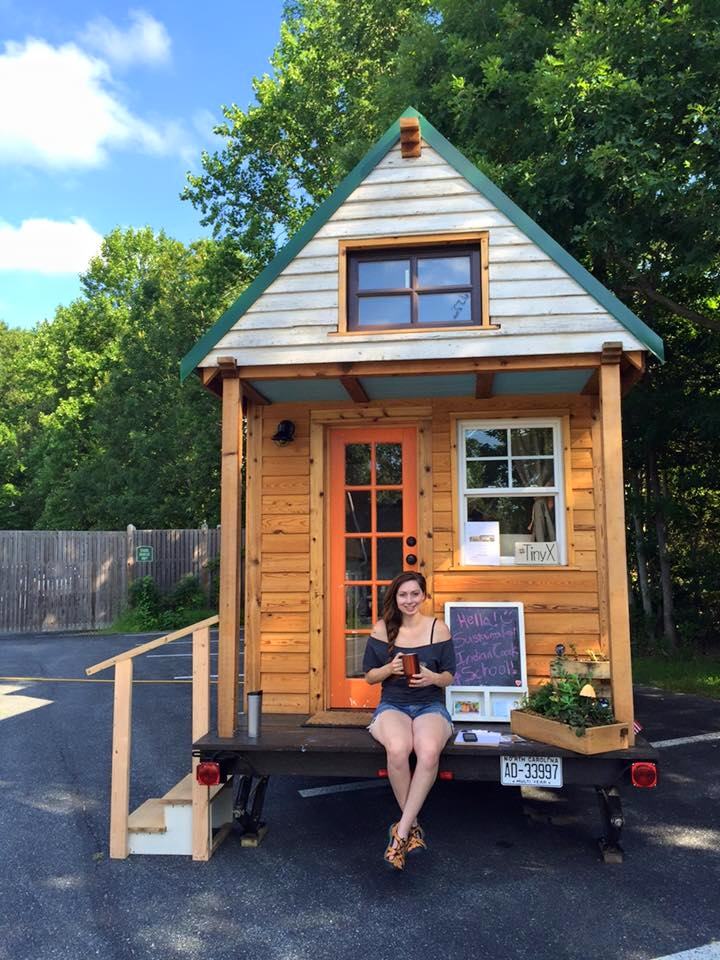 Tiny house road trip stop #2: Sustainafest, MD