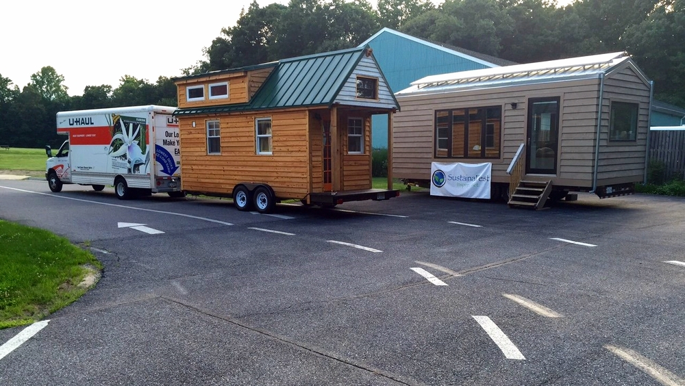 Sustainafest's Minim tiny house in MD