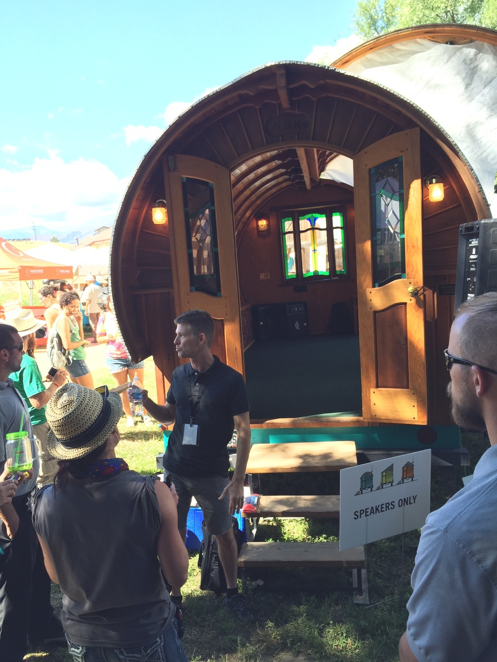 The godfather of the modern tiny house movement, Jay Shafer.