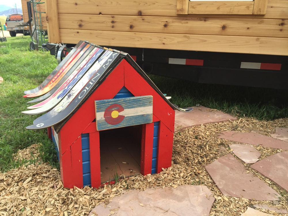 That's what I call a tiny house! Or a dog house...