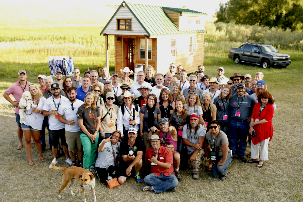 Tiny House Jamboree builders & vendors, Photo by Christian of #TeamTinyX
