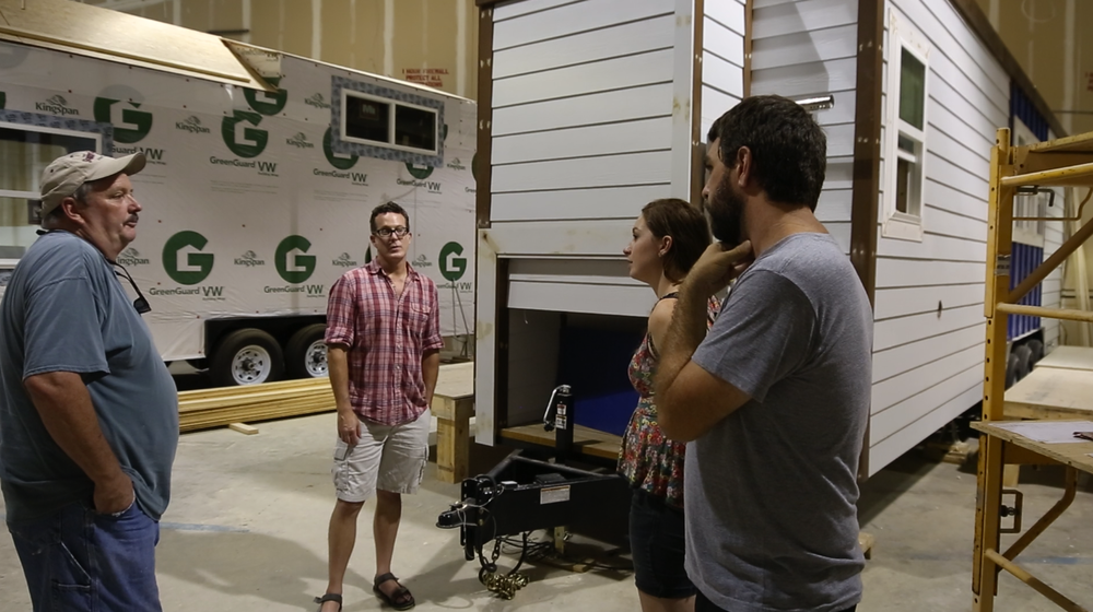 Tiny house building talk; nerding out with Bret & our buddy, James Tayolor