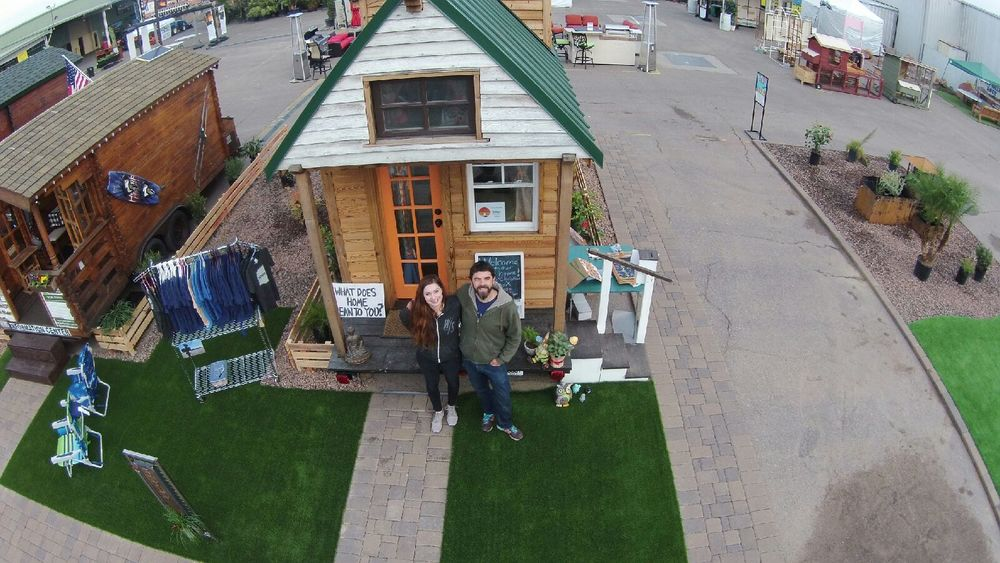 Tiny homes street of Dreams at the Maricopa home show in Phoenix, January 2016