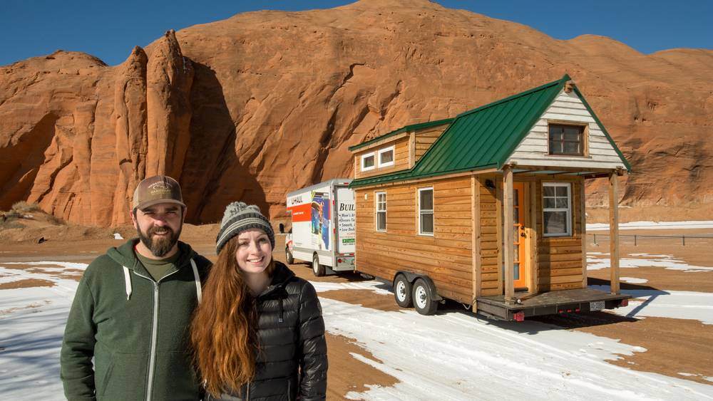 Christian & Alexis at red rock state Park, New Mexico