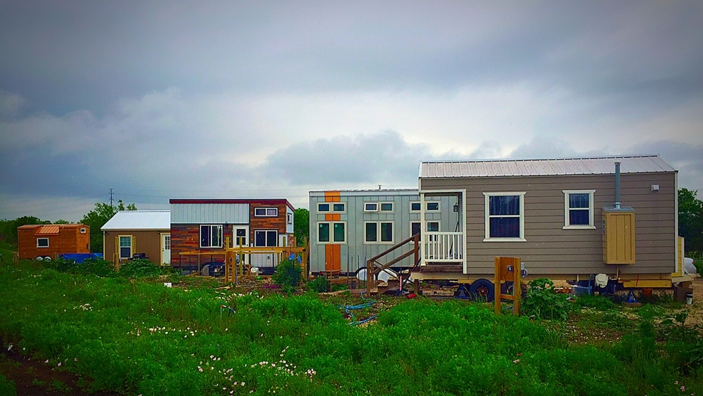 Austin Live Work, a tiny home community