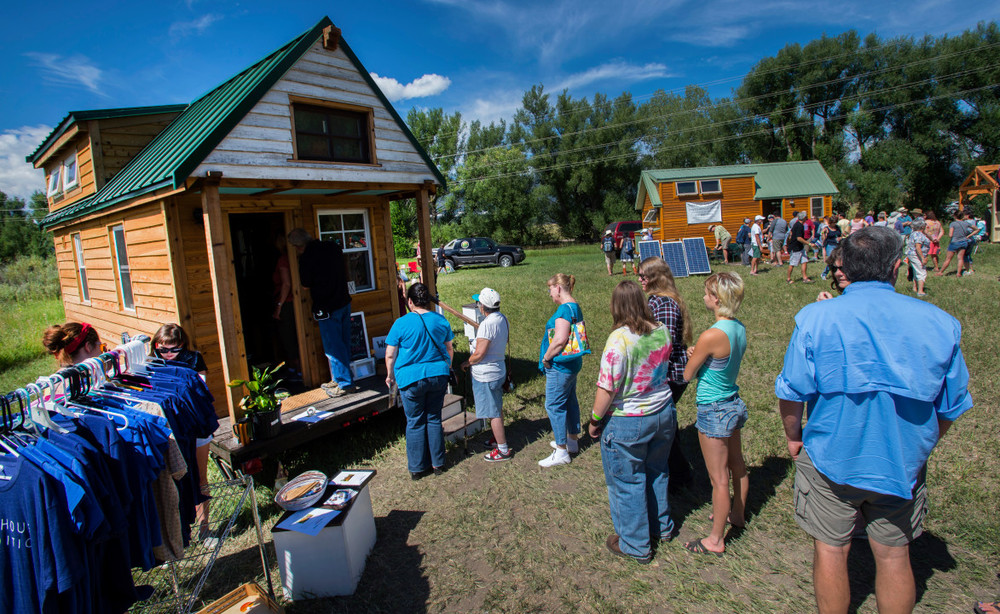 Tiny House Expedition at the 2015 Tiny House Jamboree. Photo by Christian Murdock, The Gazette