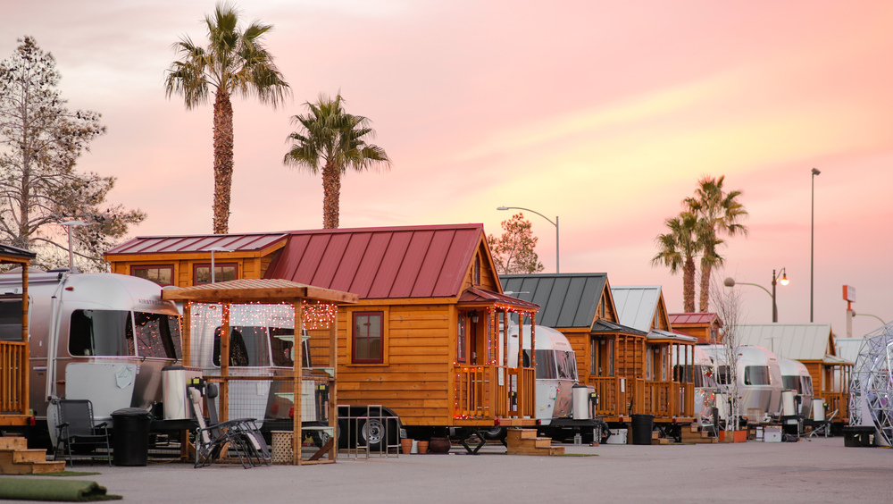 Llamalopolis, a tiny house & Airstream village in downtown Vegas
