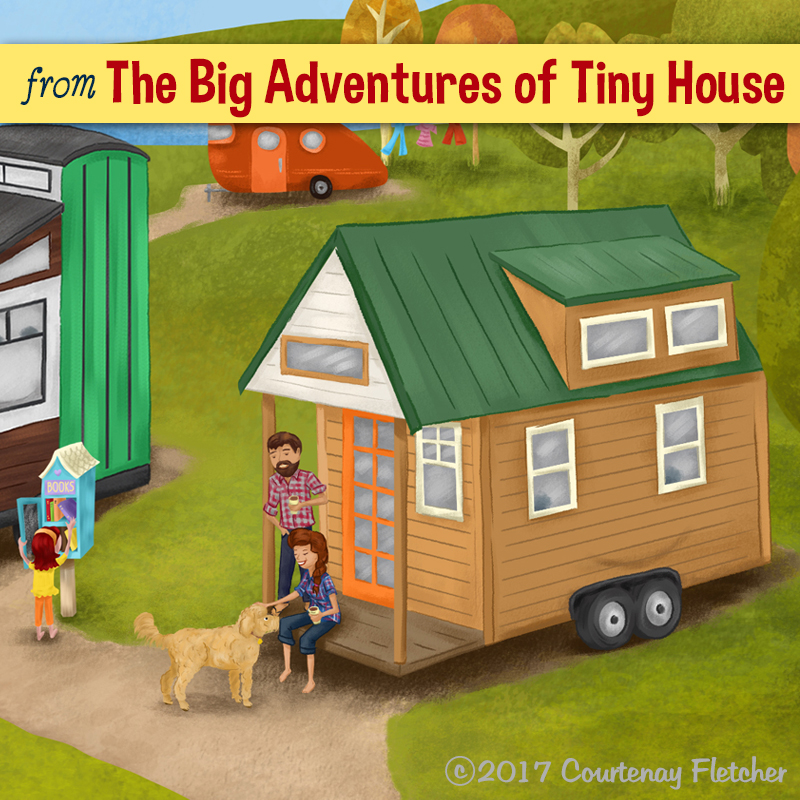 Illustration of Tiny House Expedition