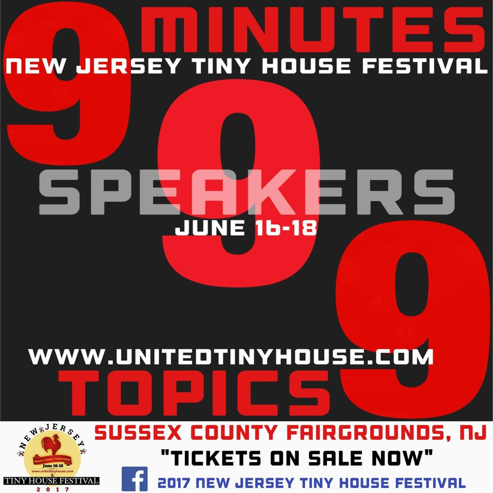 9 Different Speakers/ 9 Minutes per Speaker/ 9 Unique Topics + 30-Min. Q&A!