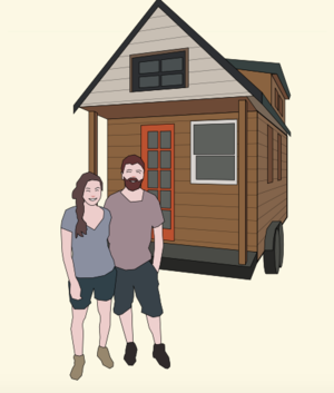 35 Inspiring Tiny Houses The People Who Live In Them Infographic