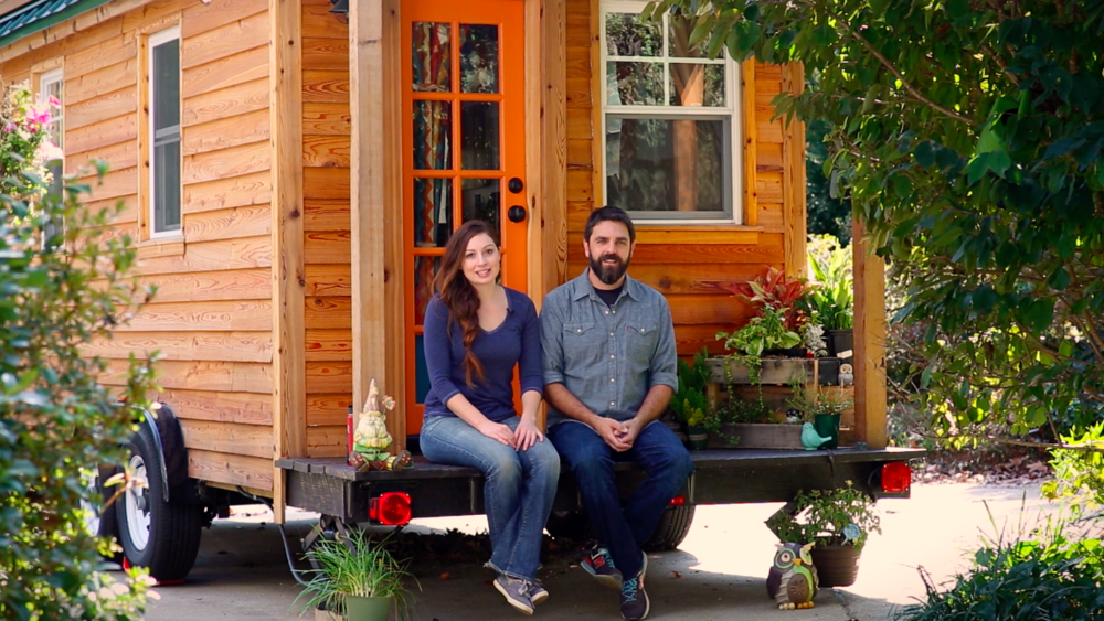 With our own tiny house in tow, we travel coast to coast, writing, filming and exploring tiny house communities.