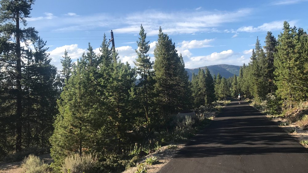 Mineral Belt Trail 1.6 mile all-season non-motorized ADA accessible Loop Trail Wraps around Leadville