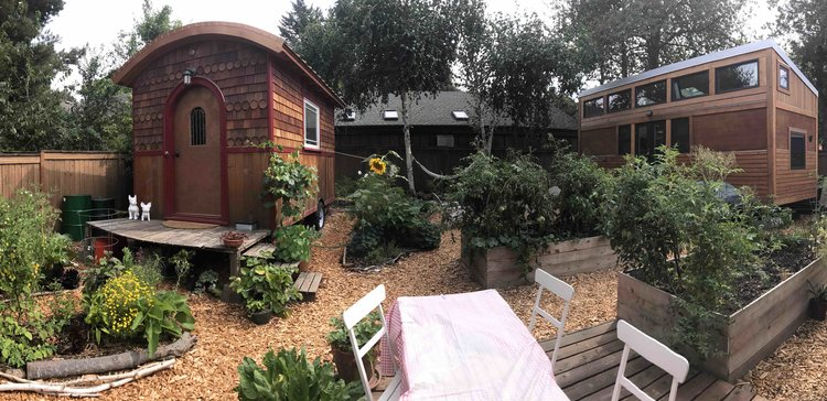 Going Places, tiny cohousing community in a Portland backyard