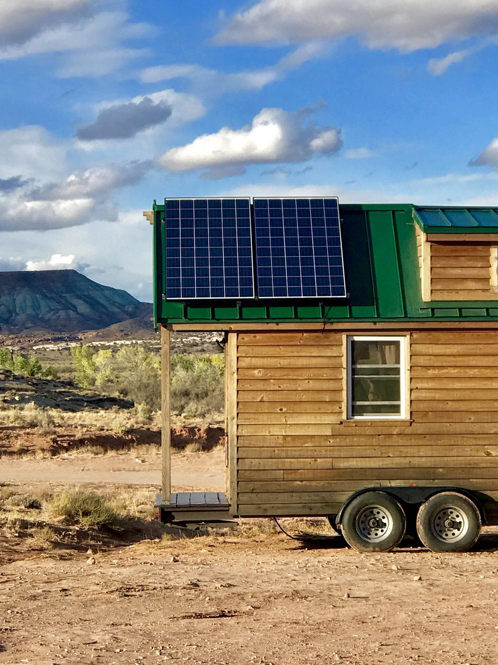 2, 270w solar panels
