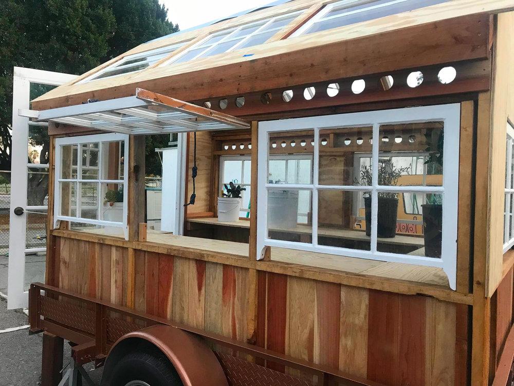 A mobile garden