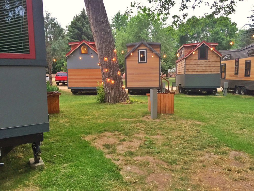WeeCasa, tiny house hotel in Lyons