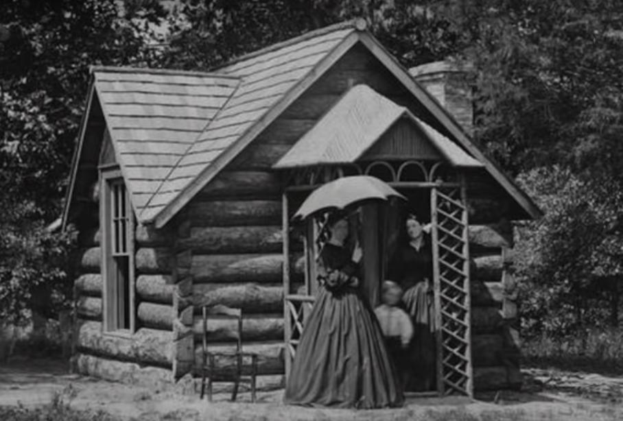 Actual Florida pioneer cabin