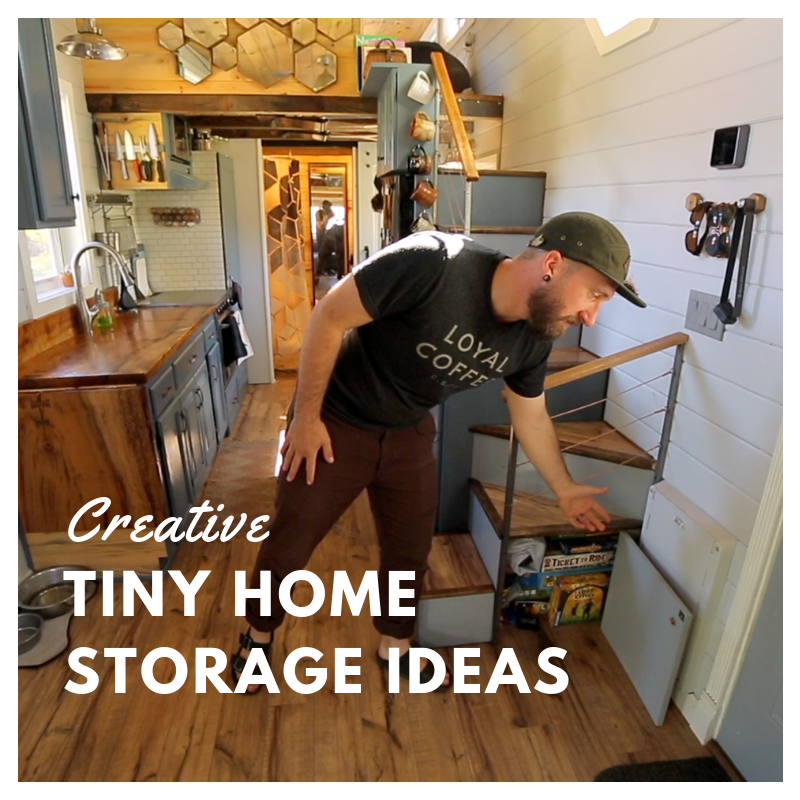 Creative Customs 9 Tiny House Storage Ideas Made For You