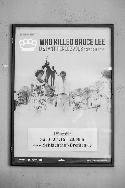 Who Killed Bruce Lee - Bremen 2016