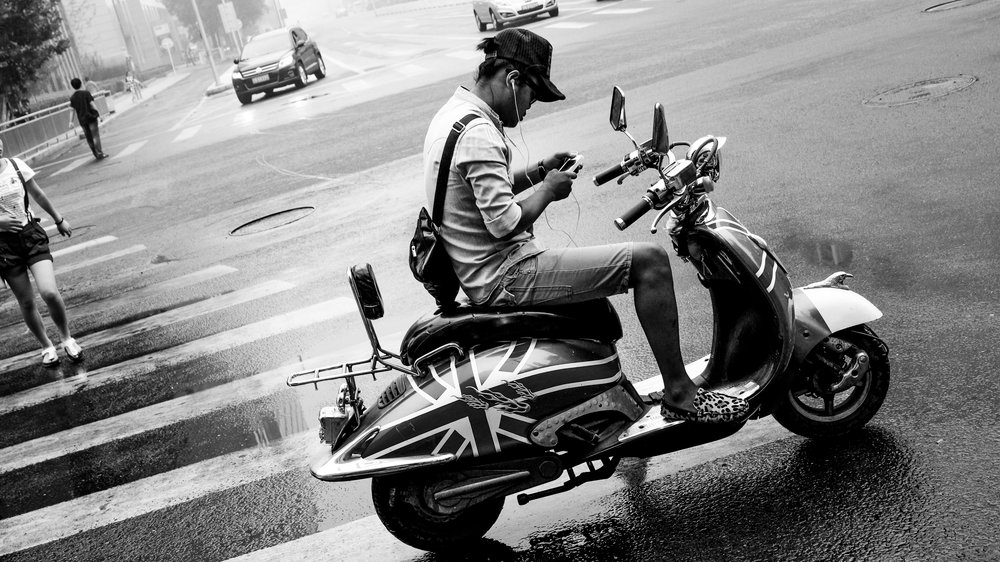 Scooter Boy - Beijing (CN)
