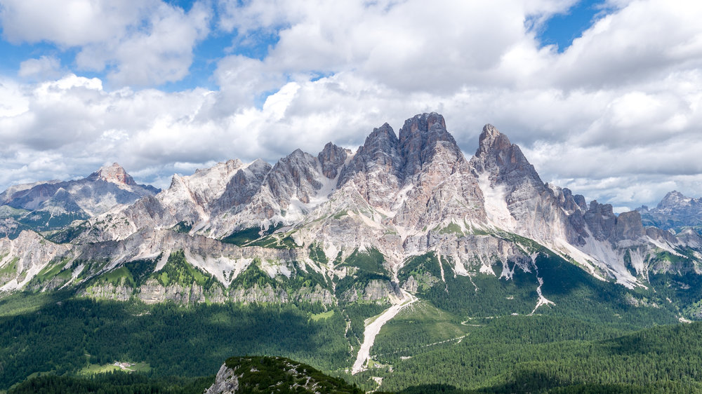 Cristallo Mountain Range - Cortina d'Ampezzo (IT)