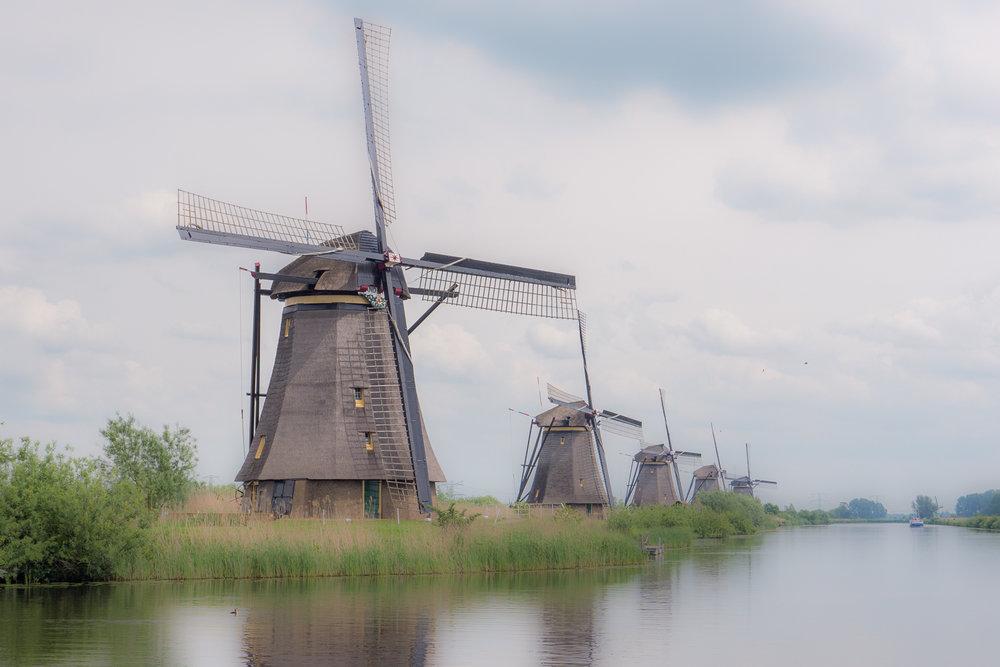 Windmills - Kinderdijk (NL)
