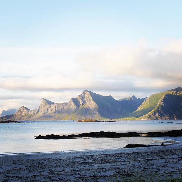 The view from today's office...... #lofoten #norway #glampingaroundeirope #arcticcircle #nordvale