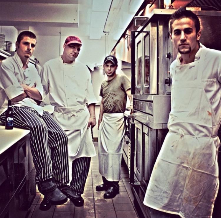 Chef Nicola Mancini Jr's Original Crew - La Tavola Ristorante 2010