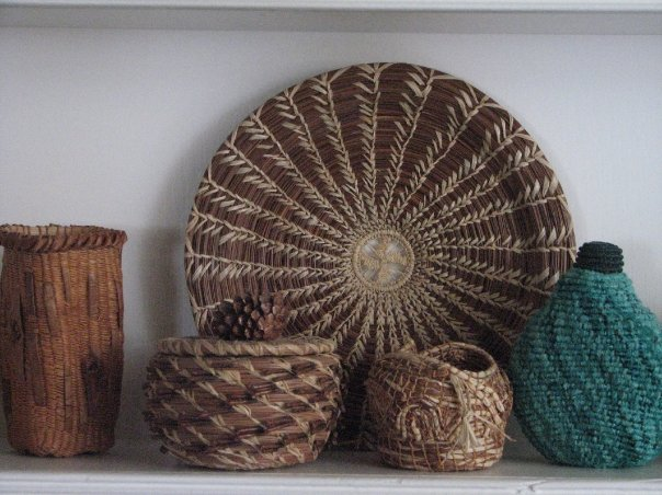 Woven Baskets by Mary Severine