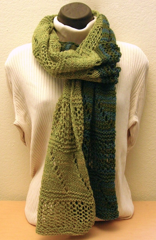Two Way Scarf by Kathy Konecki