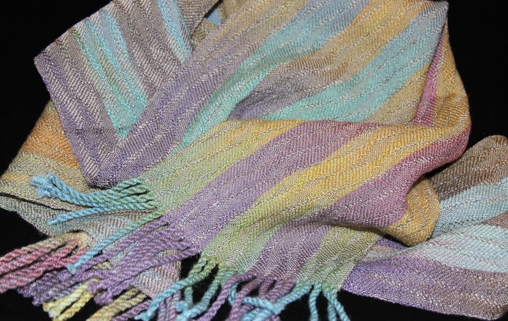 Weaving by Virginia Lee