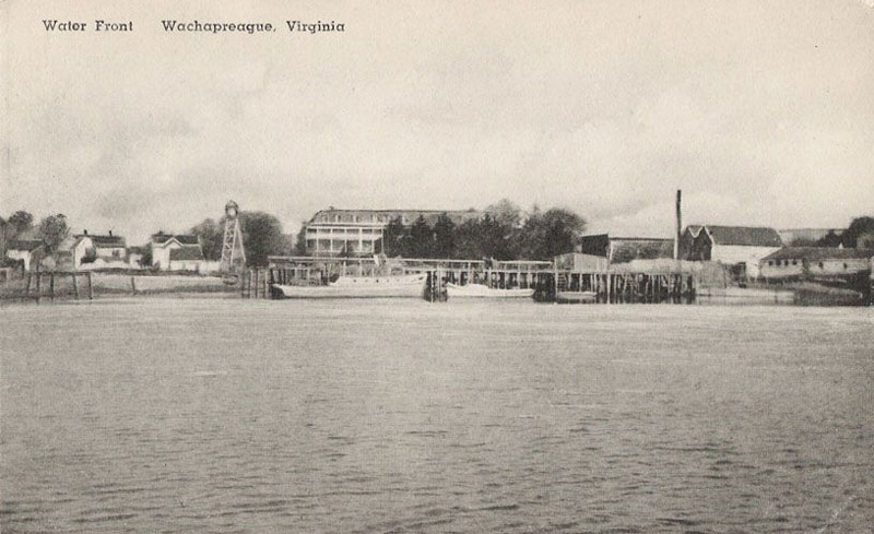 Hotel Wachapreague Water View 1902