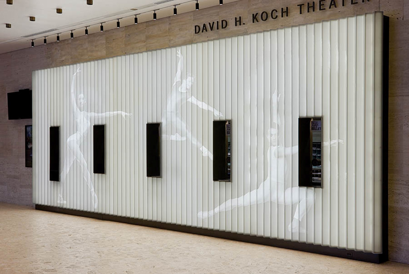 Ticket Booth - Ballet Dancers