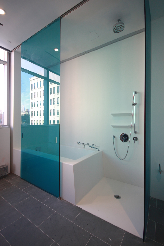 Shower & Tub - Master Bath