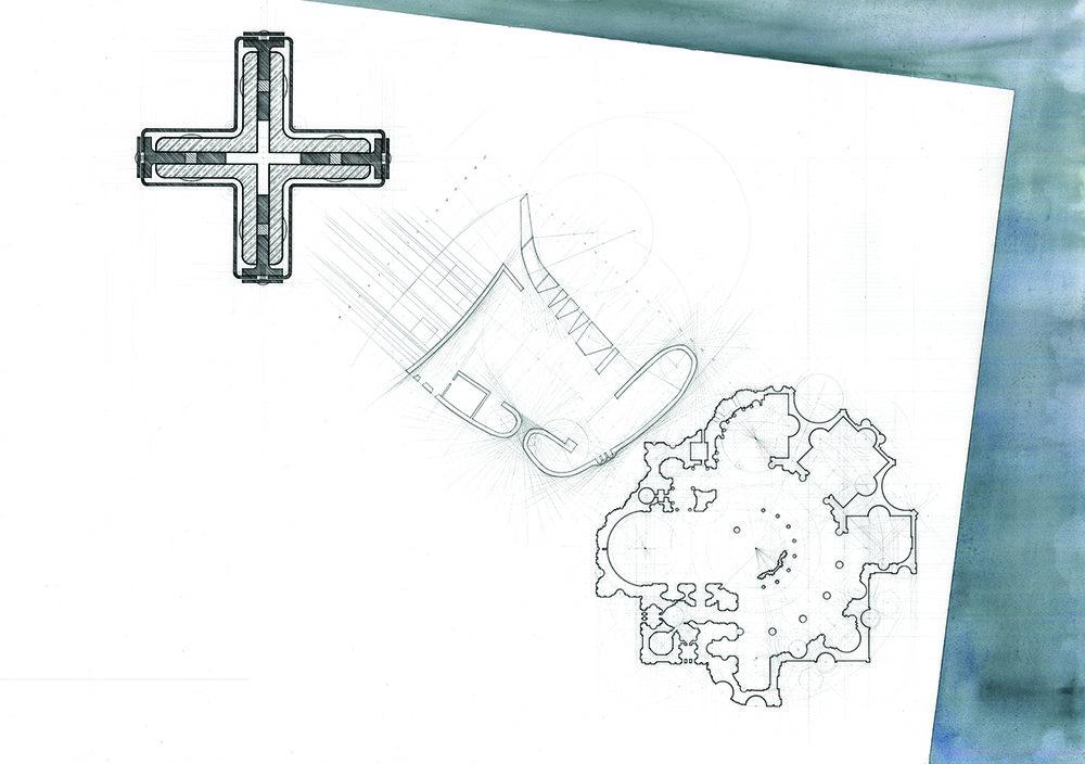 手描絵圖 Hand-drawings