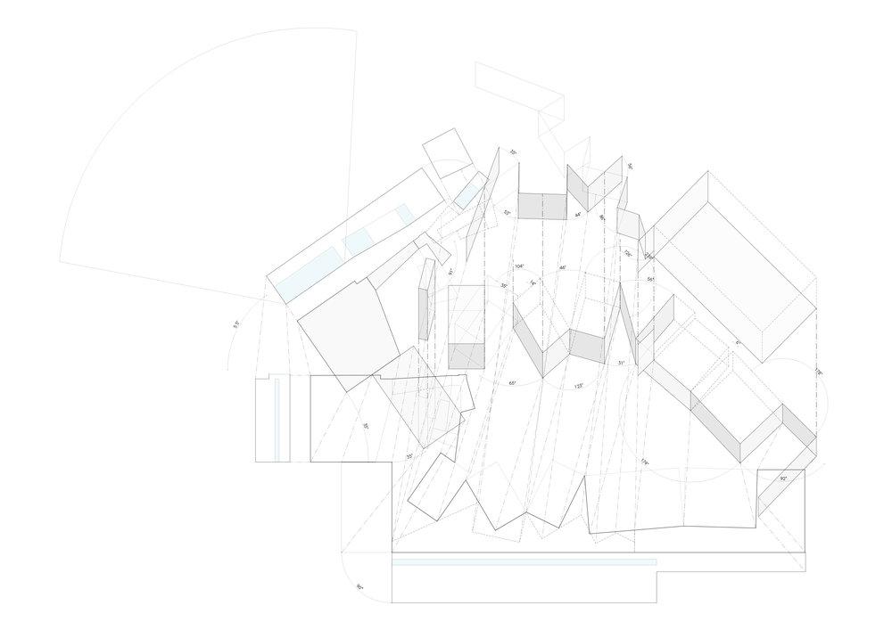 Simple Shapes, Dynamic Spaces ロジカルなプログラム構成と動線計画を追求するした先に、イロジカルにも見える動的なアーキテクチャーが現れる