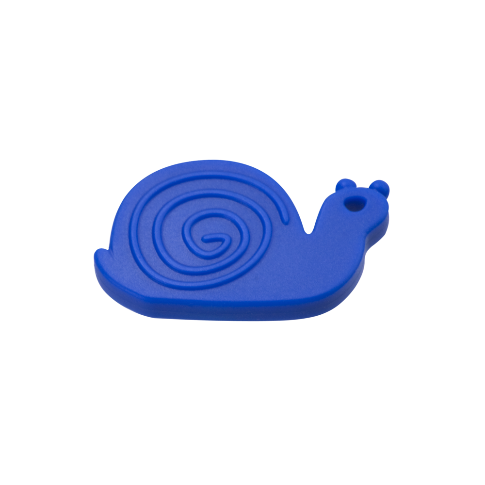 Chewable silicone snail (our smallest chewable stim toy)