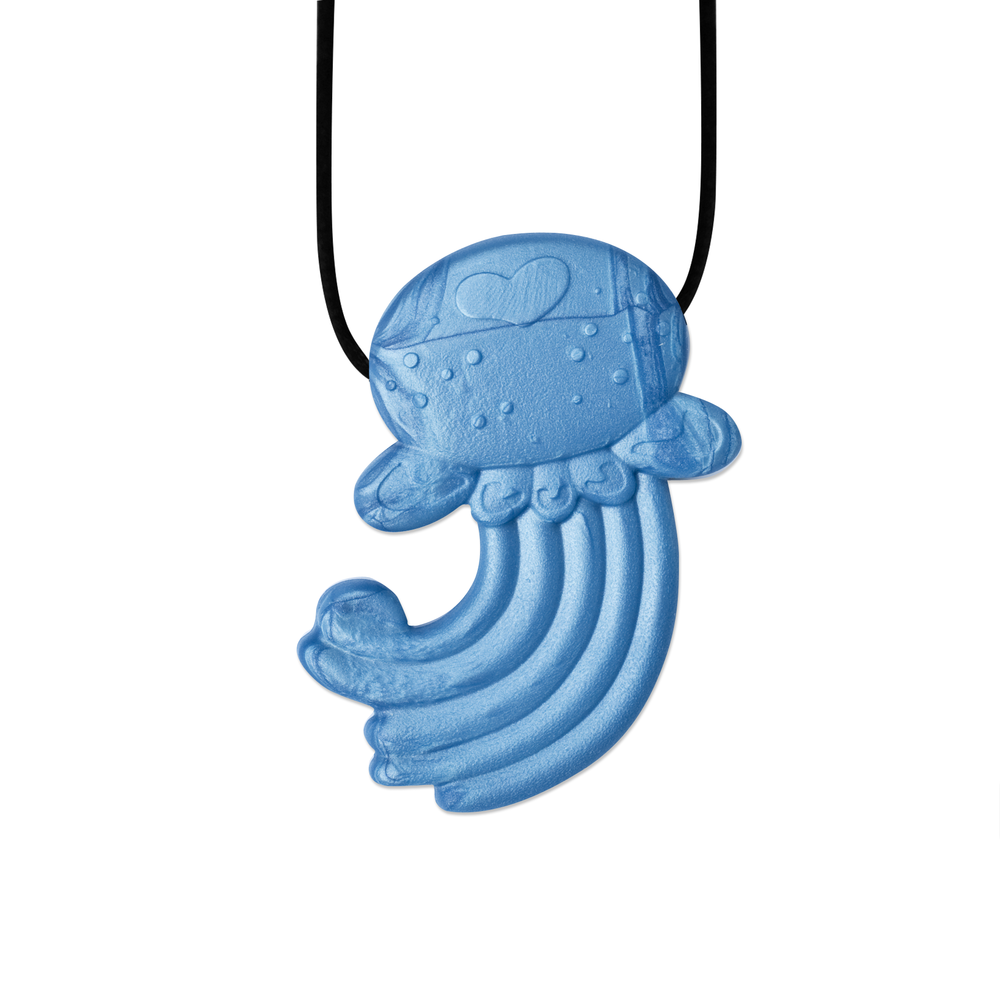 Iridescent Blue Jellyfish