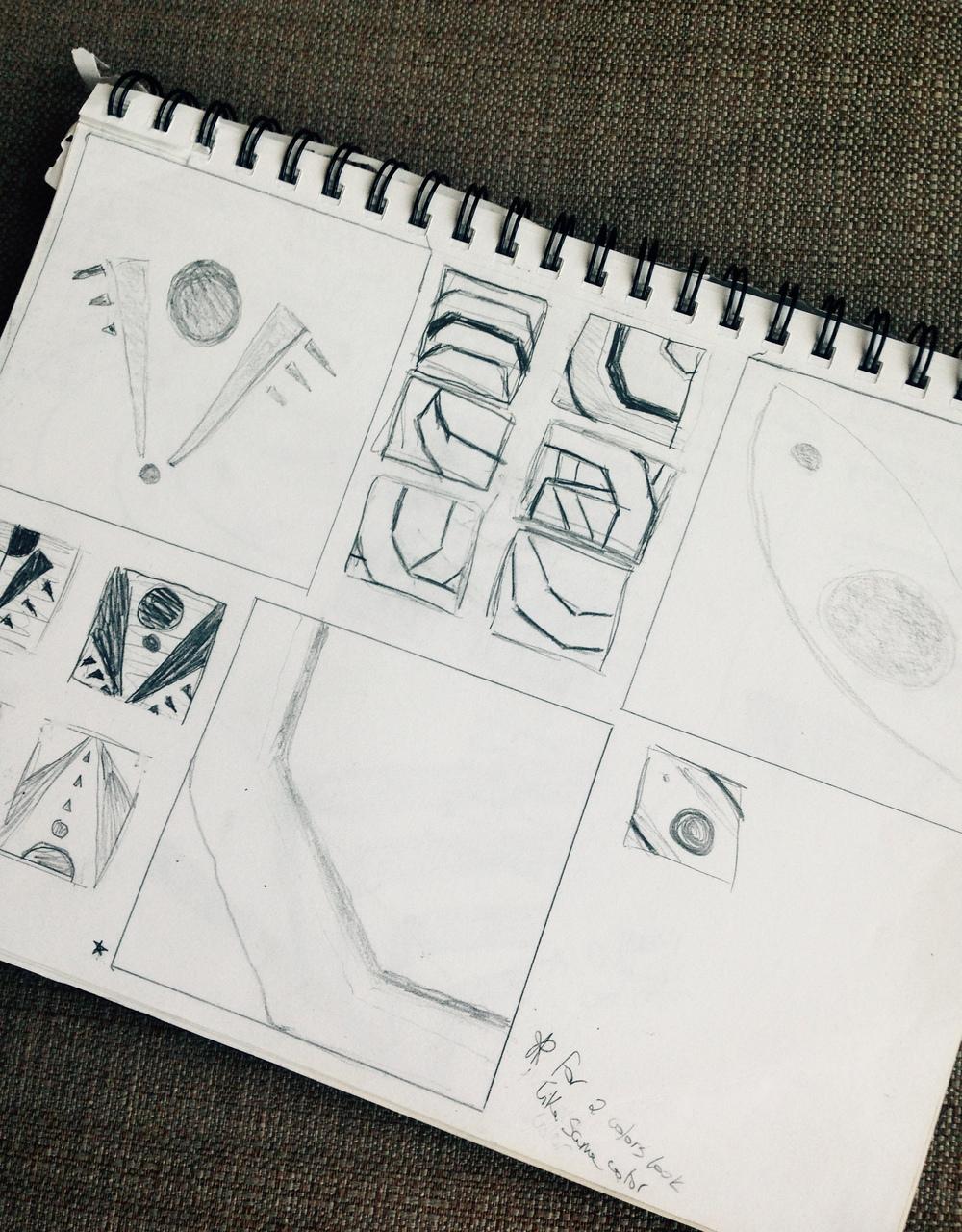 Sketch for Modern 1 | Tannie Smith