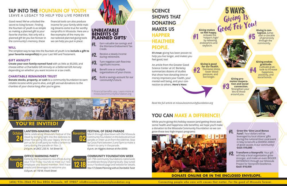 Newsletter Brochure Design, page 2