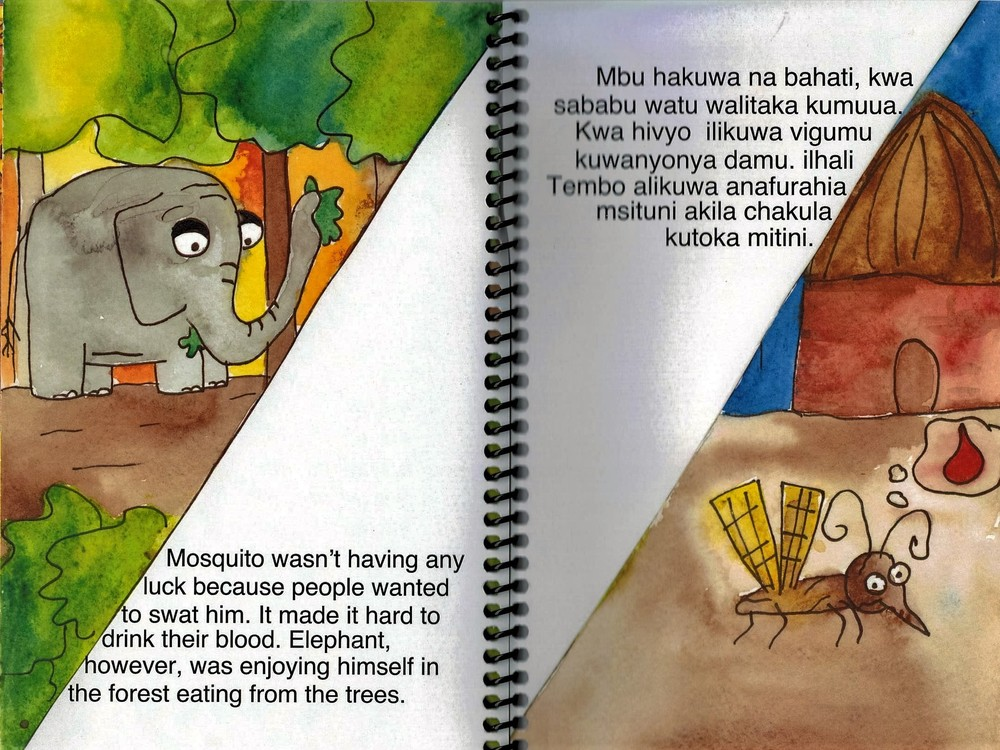 The Elephant and the Mosquito illustrated by Courtney Smith.
