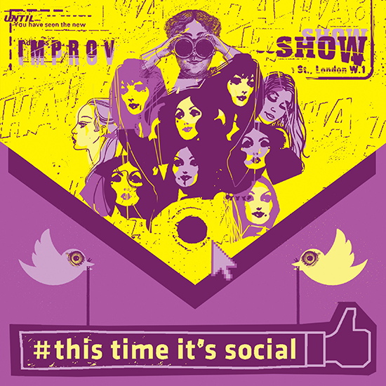#THIS TIME IT'S SOCIAL (THE IMPROV SHOW)